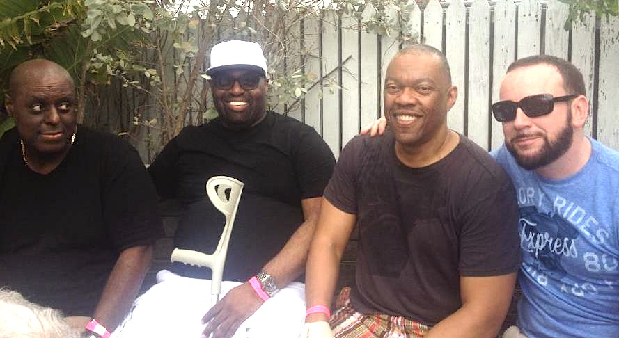 Tony Humphries, Frankie Knuckles, Tedd Patterson & Master Kev @ WMC 2014