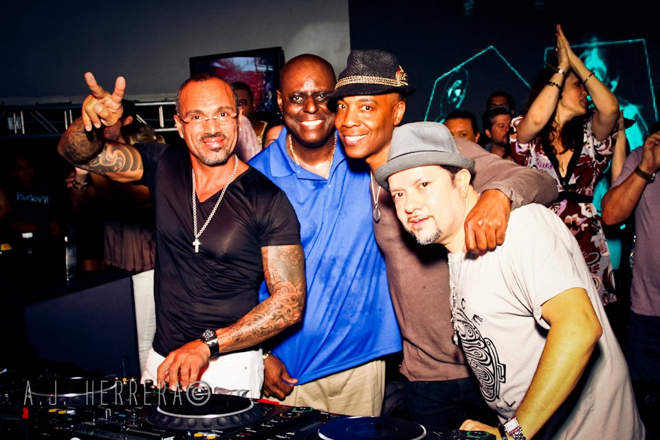 David Morales, Tony Humphries Marques Wyatt & Louie Vega @ Kings of House in LA 2012