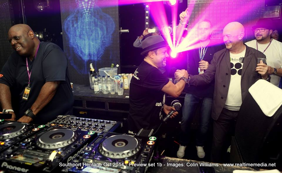 Tony Humphries & Little Louie Vega @ Southport Weekender 2014