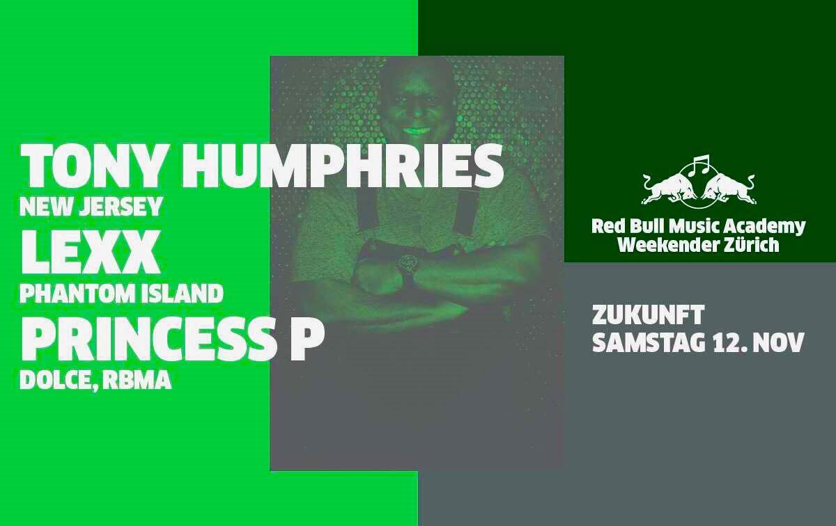 7c24308716 Red Bull Music Academy WeekenderTony Humphries | Tony Humphries